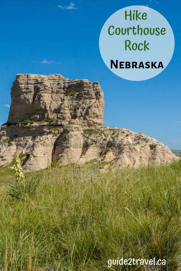 Courthouse Rock & Jail Rock in Nebraska