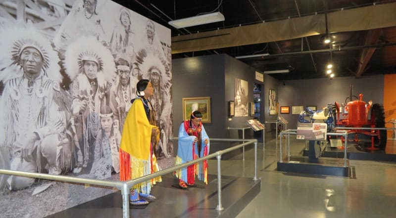 First peoples of the plains at Legacy of the Plains Museum in Gering, Nebraska.