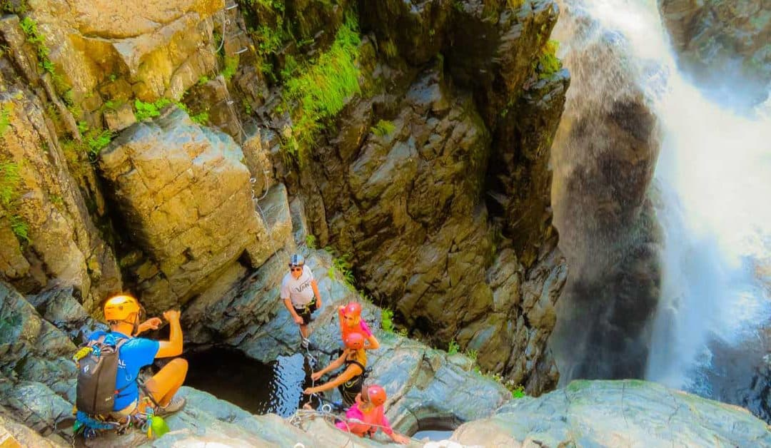 Try it! Canyon Sainte-Anne Via Ferrata Adventure Tour