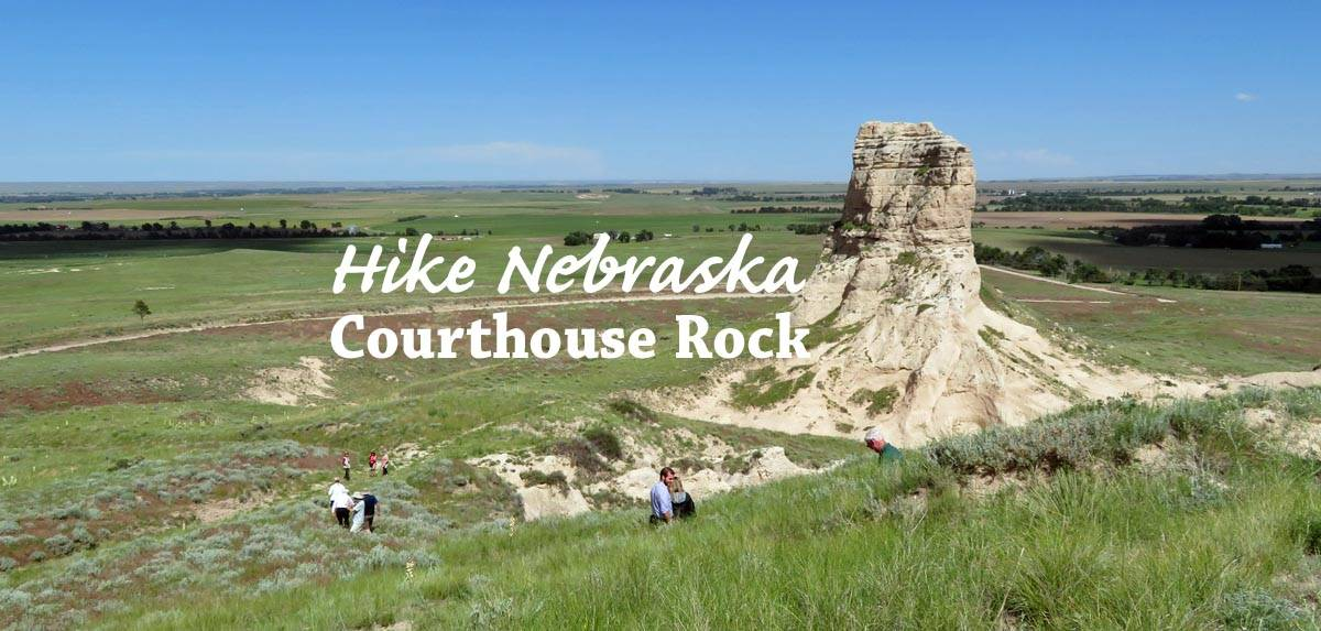 Hike Nebraska - Courthouse Rock