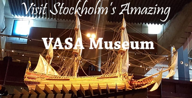 Replica of the VASA warship