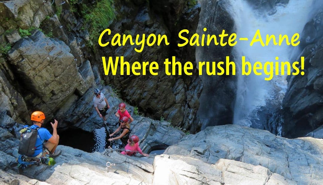 Try it! Canyon Sainte-Anne Via Ferrata Adventure Tour