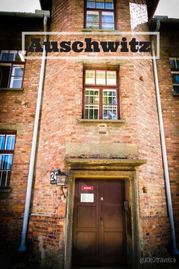 Building at Auschwitz Concentration Camp in Poland.