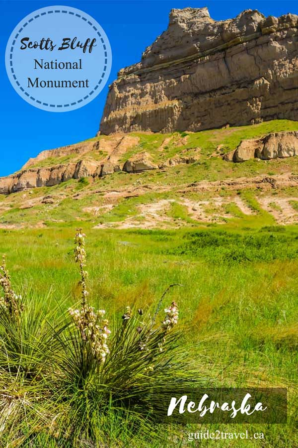 Scotts Bluff National Monument in Scotts Bluff, Nebraska.