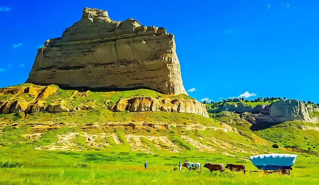 Scotts Bluff National Monument: Historic Places on the Oregon Trail