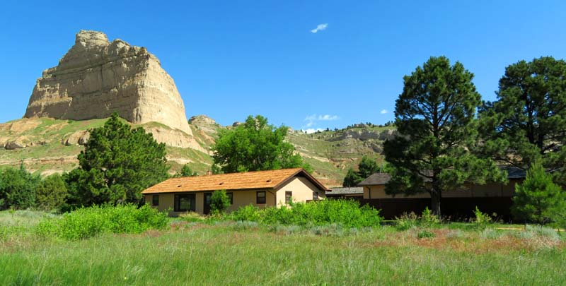 Scotts Bluff National Monument Visitor Center