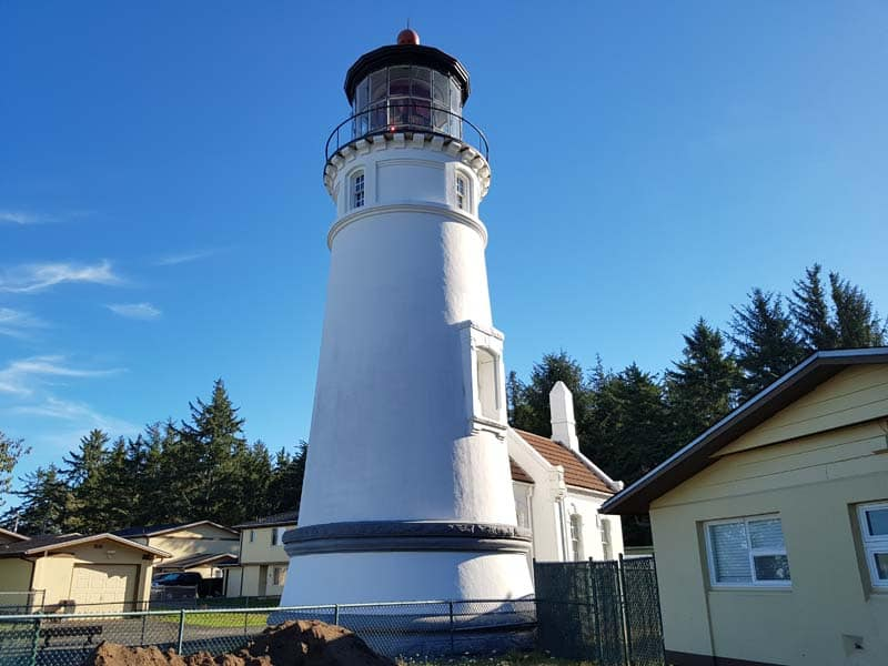 Umpqua Lighthouse in Oregon