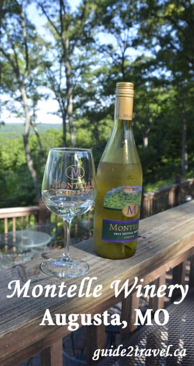 Montelle Winery in Augusta, Missouri.