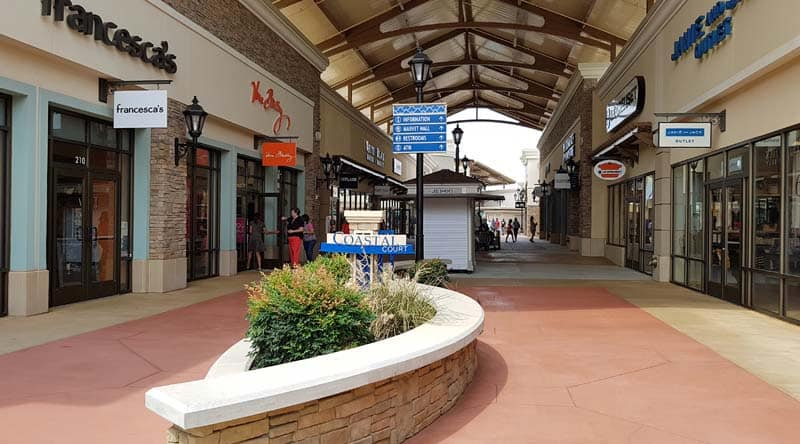 Charlotte Premium Outlets Mall in Charlotte, NC.