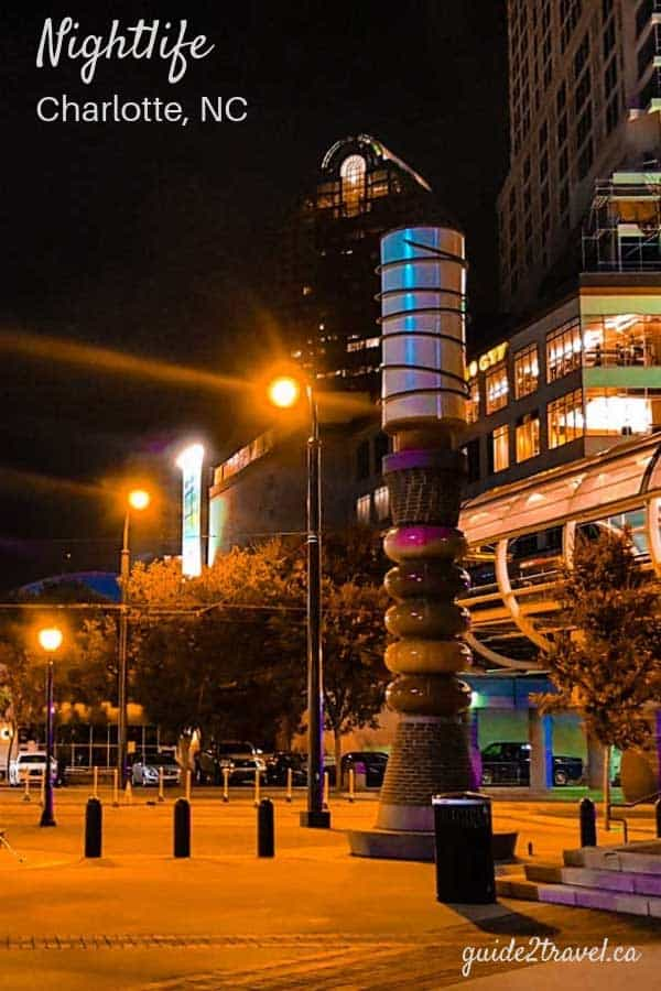 Enjoy the nightlife in tour in Charlotte, North Carolina