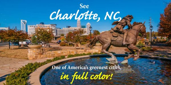 Charlotte, NC, in full fall colors!
