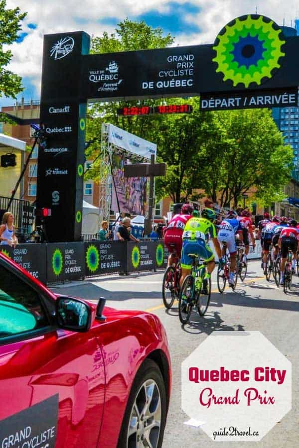 Grand Prix Cycliste de Québec in Quebec City, Canada