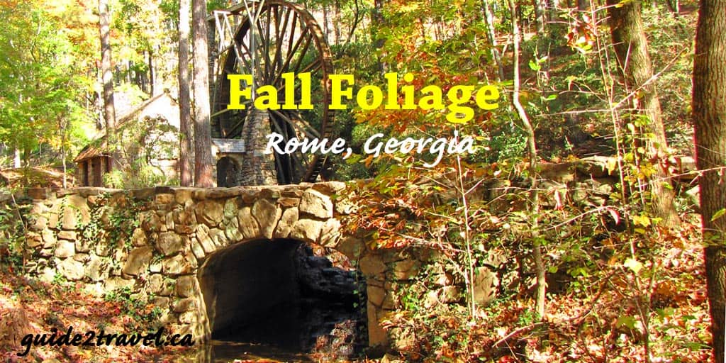 Fabulous Fall Walks in one of Georgia's Most Beautiful Historic Places