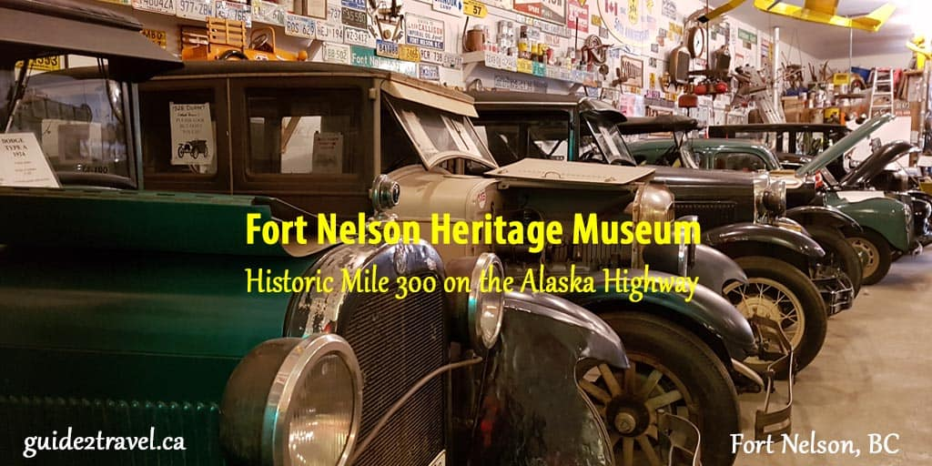 Fort Nelson Heritage Museum in Northern British Columbia