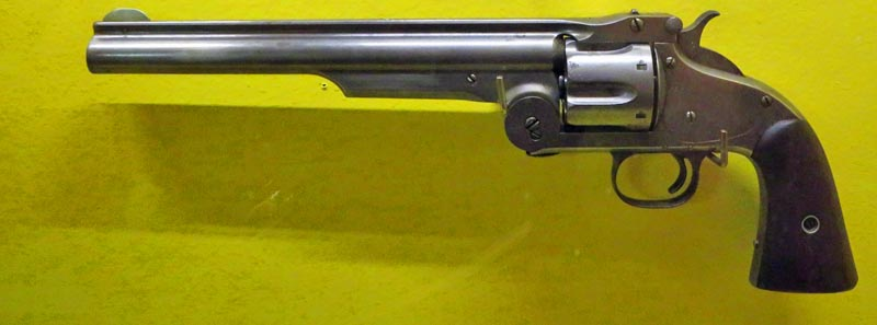 1871 Smith & Wesson Revolver in the collection of The Museum of the Fur Trade in Chadron, NE.
