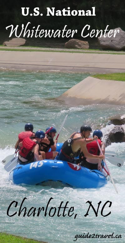 Whitewater Rafting at the U.S. National Whitewater Center.