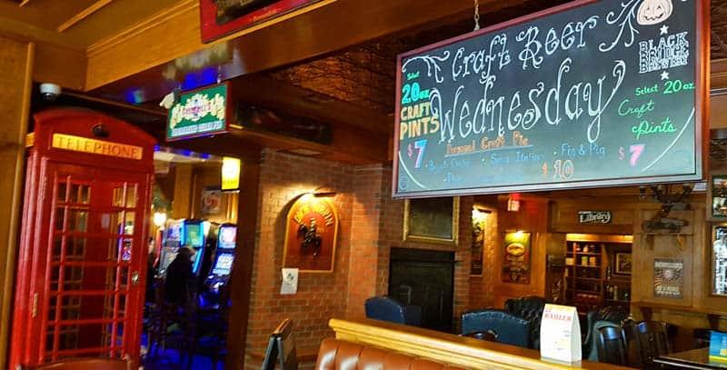 Winston's English Pub & Grill in Saskatoon, Saskatchewan.