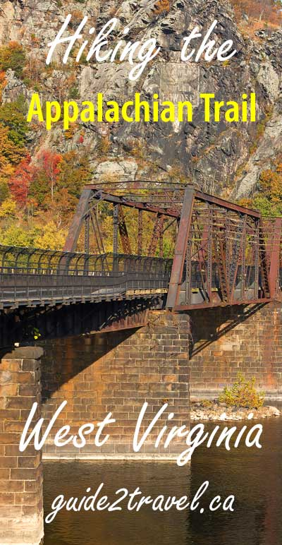 Bridge on the Appalachian Trail where the Potomac River meets the Shenandoah River.