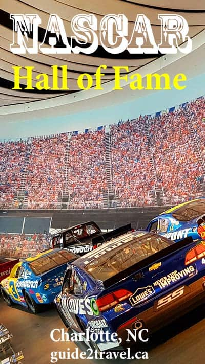 NASCAR Hall of Fame Glory Road in Charlotte, NC