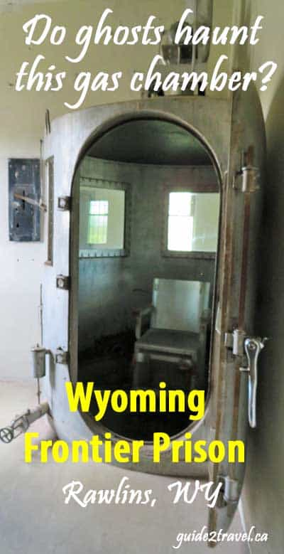 Gas chamber at Wyoming Frontier Prison Museum in Rawlins.