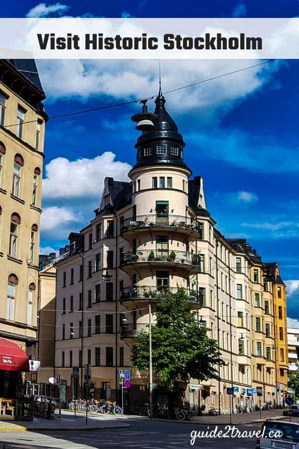 Historic building in Stockholm