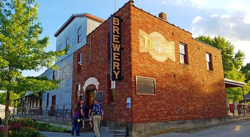 Tin Mill Brewery in Hermann, Missouri