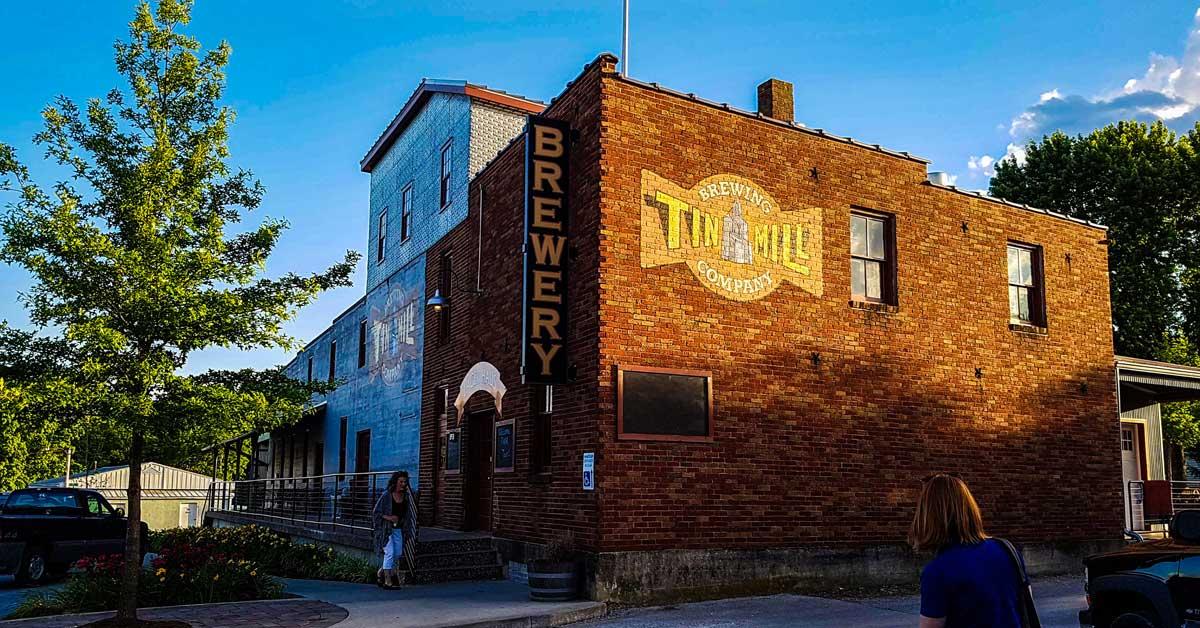 Tin Mill Brewery in Hermann, Missouri