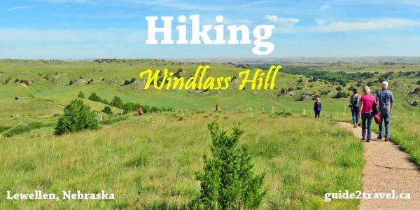 Hiking Windlass Hill in Nebraska on the Oregon Trail