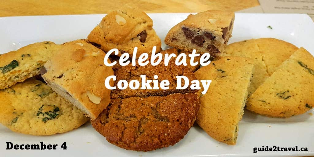 Celebrate National Cookie Day December 4 at Your Favorite Coffee Shop