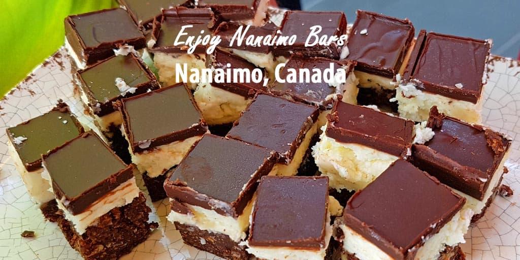 Nanaimo Bars from Nanaimo, Canada.