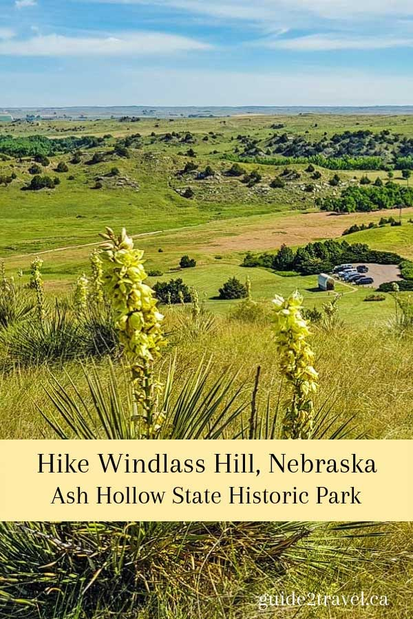 Hike Windlass Hill in Ash Hollow State Historic Park