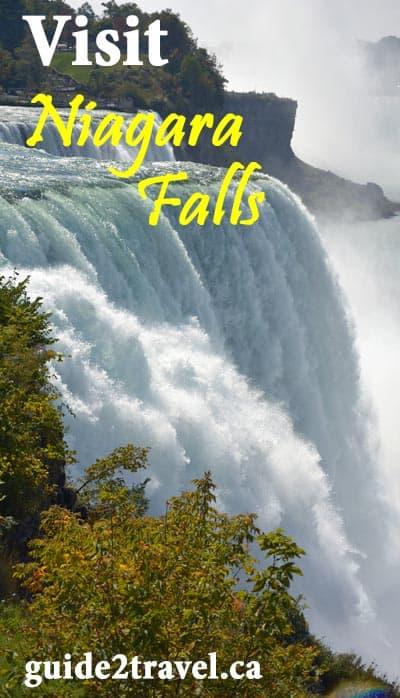 Visit Niagara Falls. Photo by Linda Aksomitis.