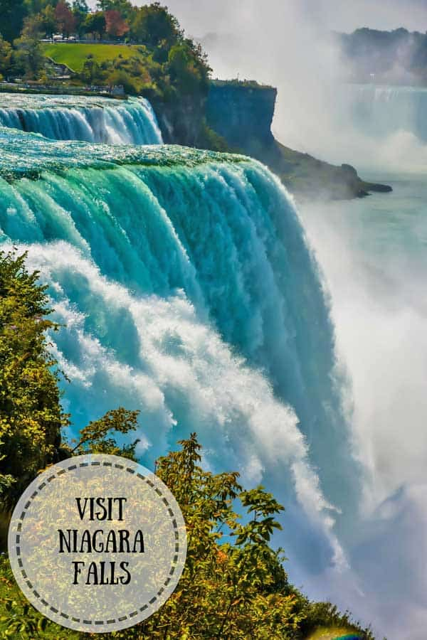 Niagara Falls - world's second largest waterfalls