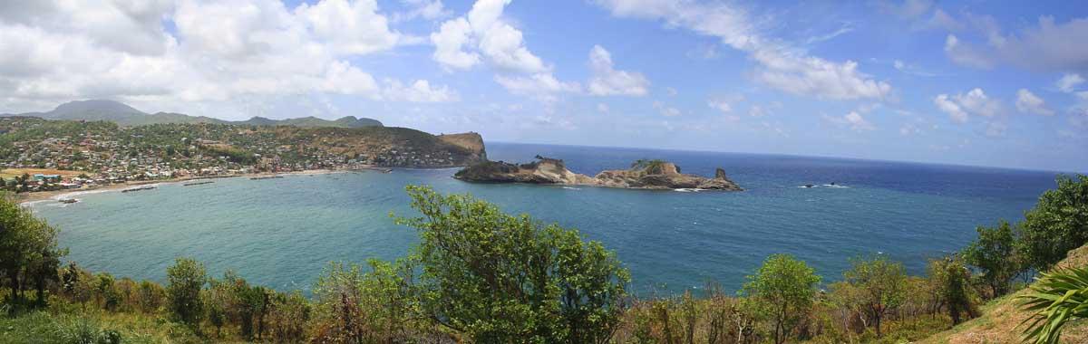 Dennery Bay, St. Lucia. Photo by Ian Mackenzie.