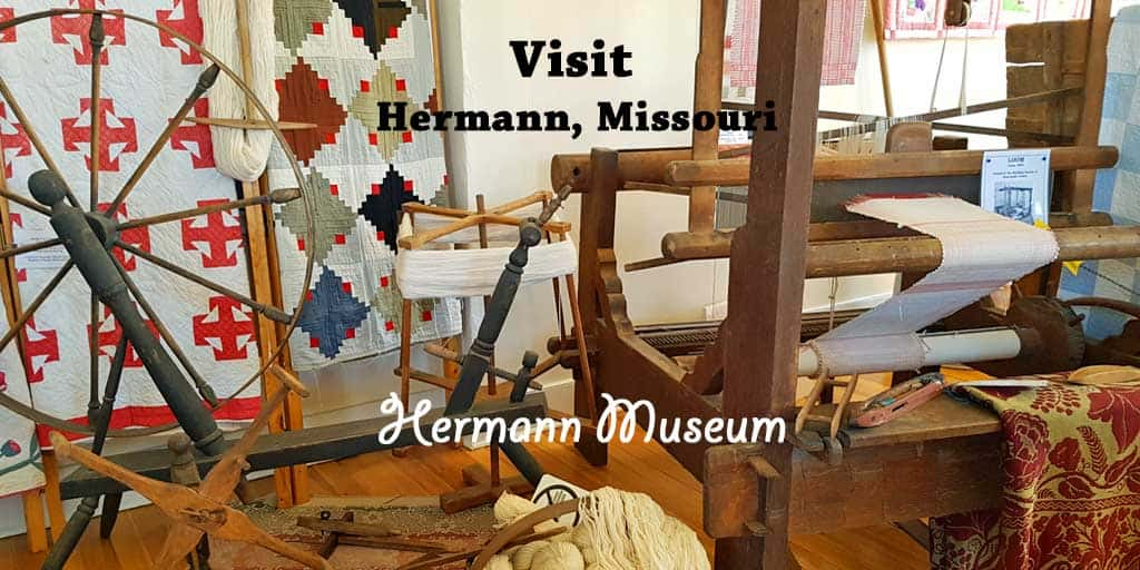 Historic Hermann Museum in Hermann, Missouri.