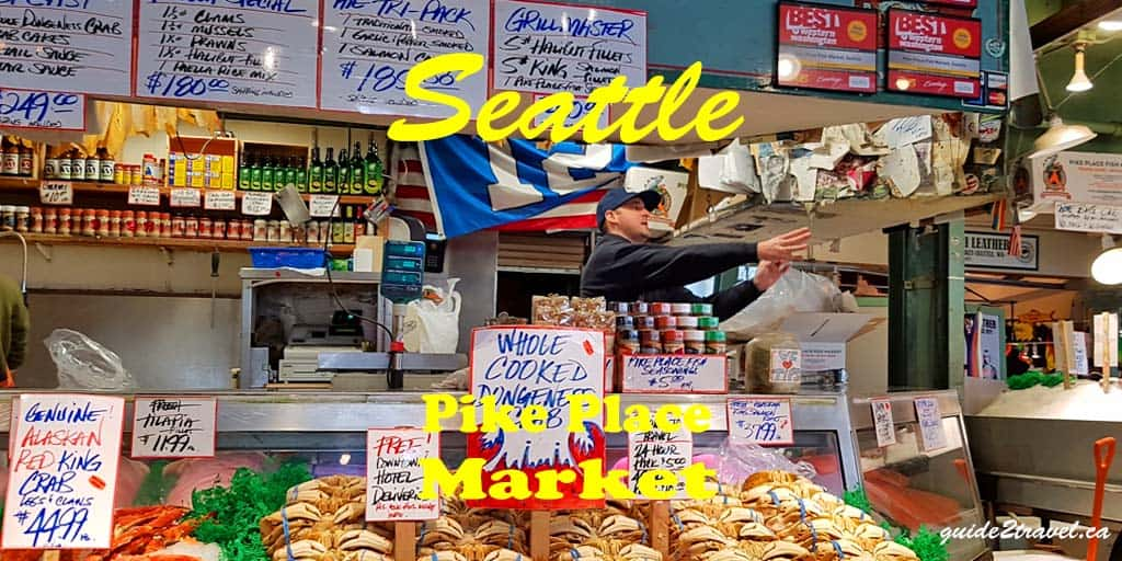 See Fish Fly: Pike Place Market in Seattle