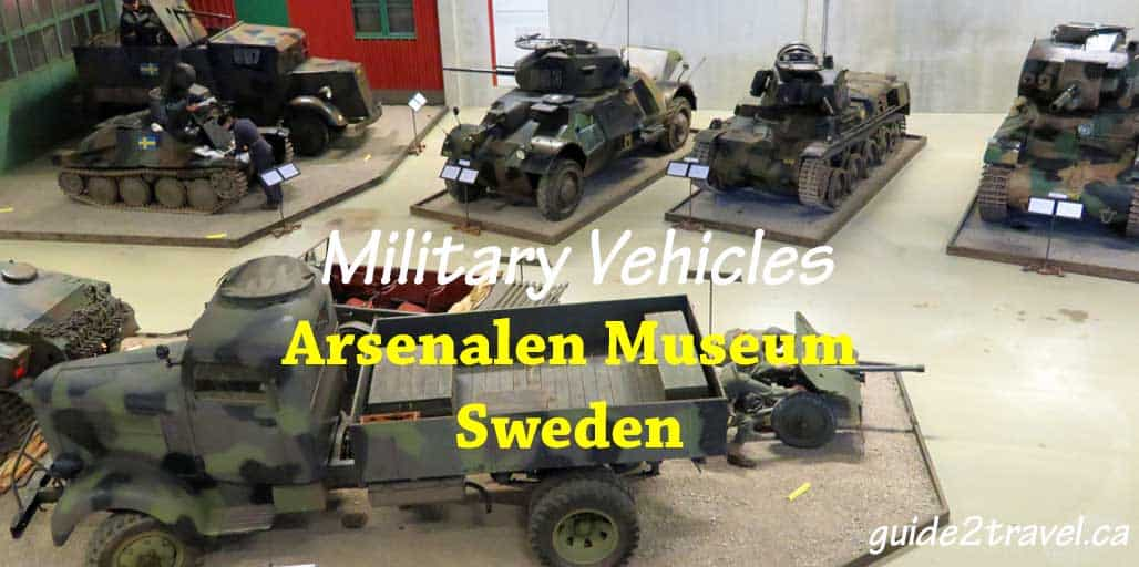 Arsenalen tank museum outside Stockholm, Sweden.