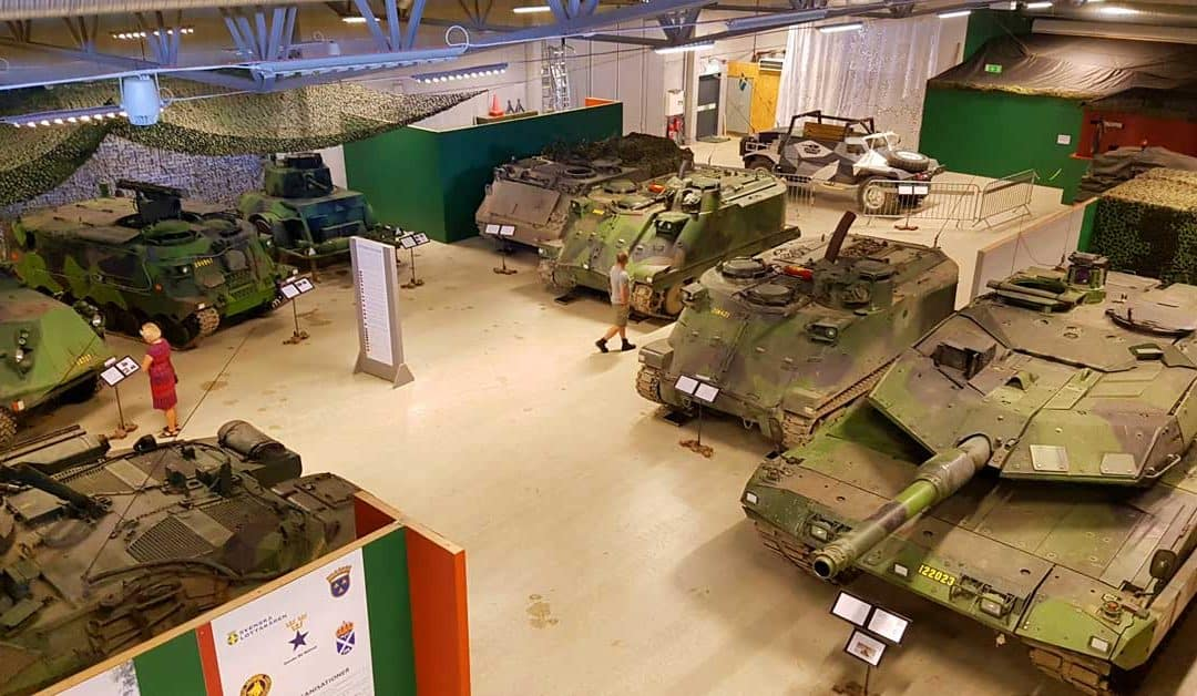 Military Vehicles – Discover the Largest Scandinavian Tank Museum: Arsenalen, Sweden