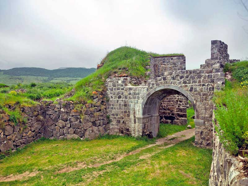 Lori Fortress is located in Lori region, on the bank of the Dzoraget River, near the Stepanavan dendropark.