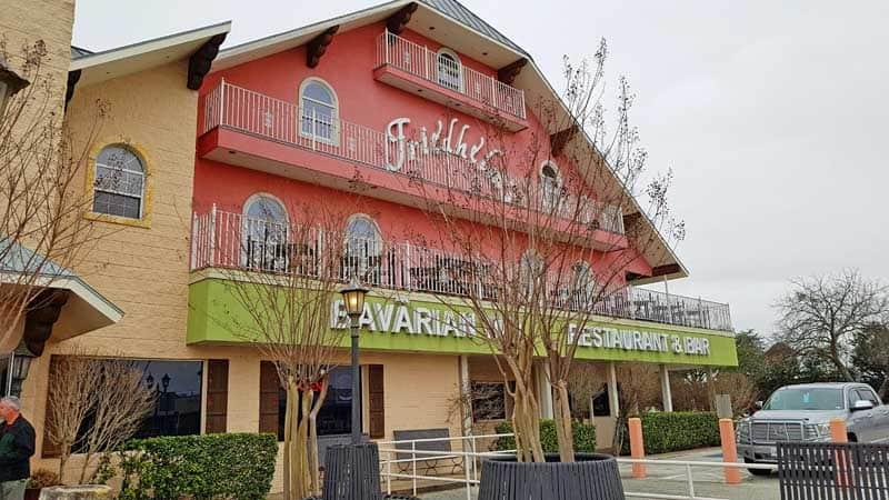 Friedhelm's Bavarian Inn Restaurant & Bar in Fredericksburg, Texas.
