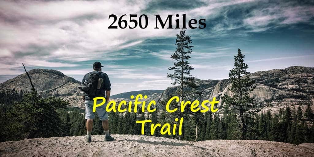#Hiking the #PacificCrestTrail through #Washington #Oregon and #California