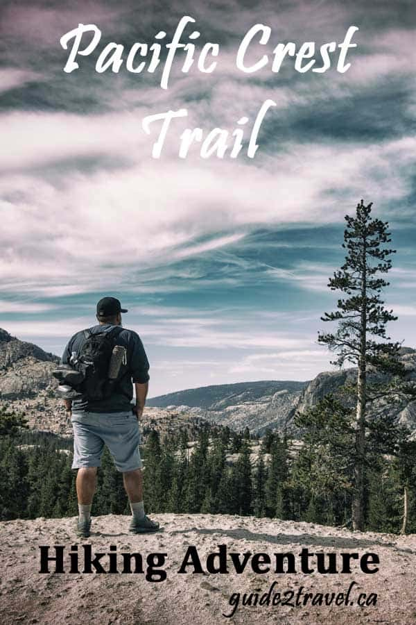 #Travel guide to #Hiking 2650 miles on the #PacificCrestTrail through #Washington #Oregon and #California in the U.S. Check out the infographic on what you can expect to find.