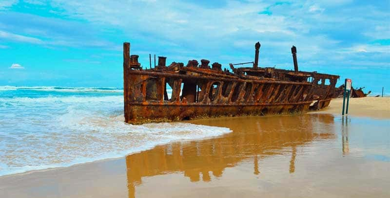Fraser Island in #Australia - Photo by Matt McLeod reused under a Pixabay CC license.