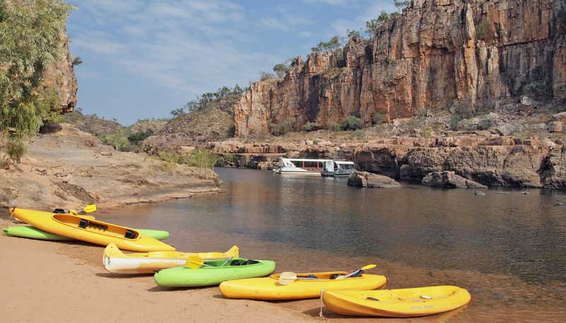 Nitmiluk National Park, Katherine Gorge adventure activities in #Australia - Photo by Skittledog. Reused under a CC BY-NC-SA 2.0 license.