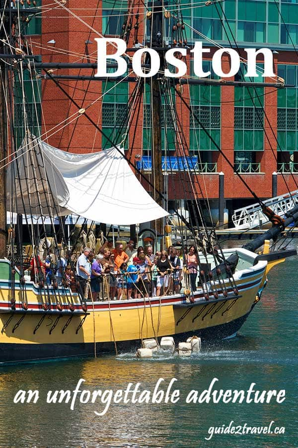 Boston Tea Party Boat.