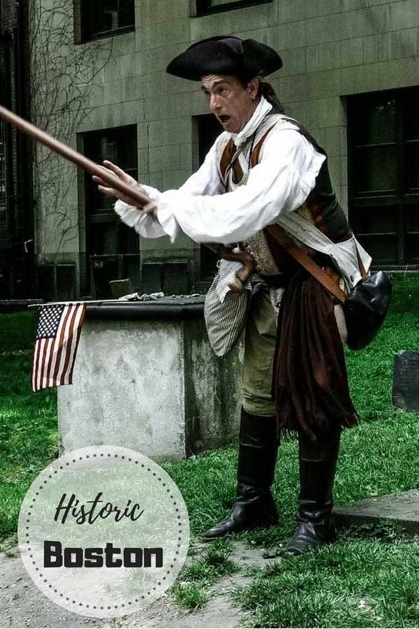 Historic Boston, Massachusetts.