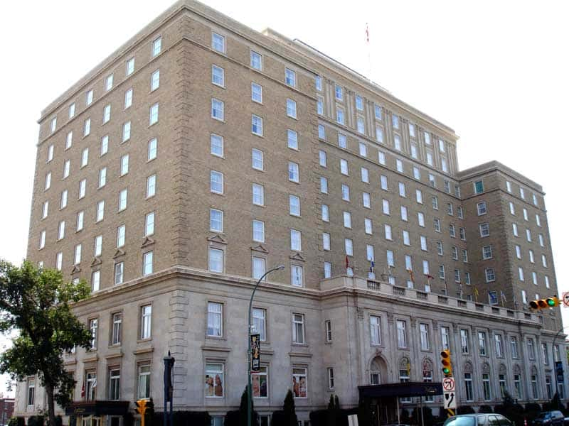 Hotel Saskatchewan, one of the best places to stay in Regina. Photo by Daryl Mitchell. Reused under a CC BY-SA 2.0 license.