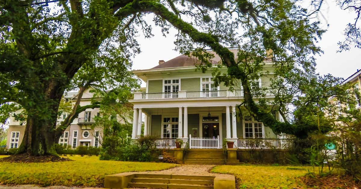 Historic home in Mobile, Alabama.