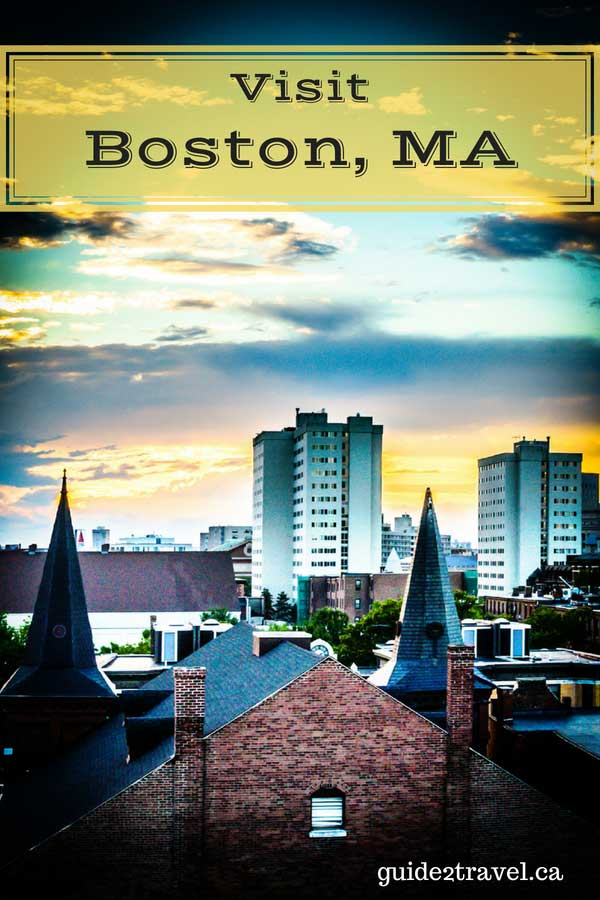 Weekend getaway in Boston, Massachusetts.