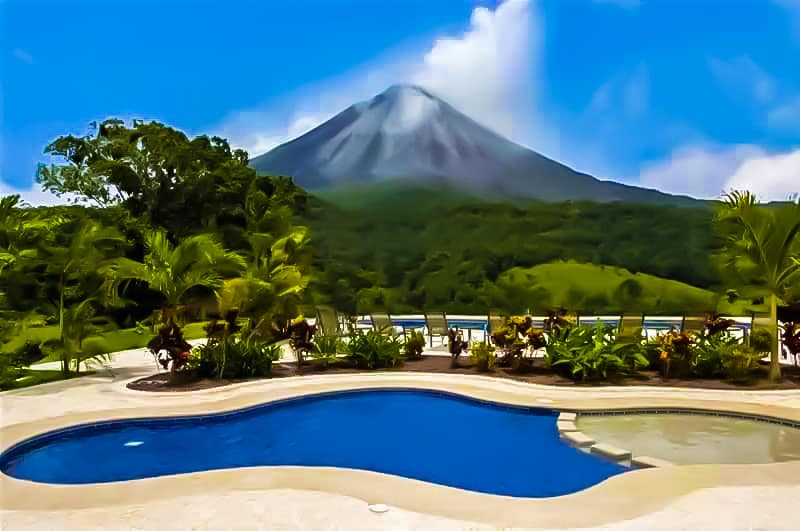 Arenal Kioro Suites and Spa in Costa Rica.
